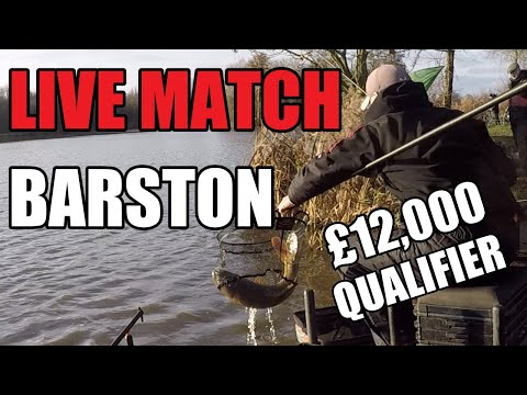 LIVE FISHING MATCH!! | Barston Lakes | £12,000 Golden Rod - Feeder Fishing For Carp, Rob Wootton
