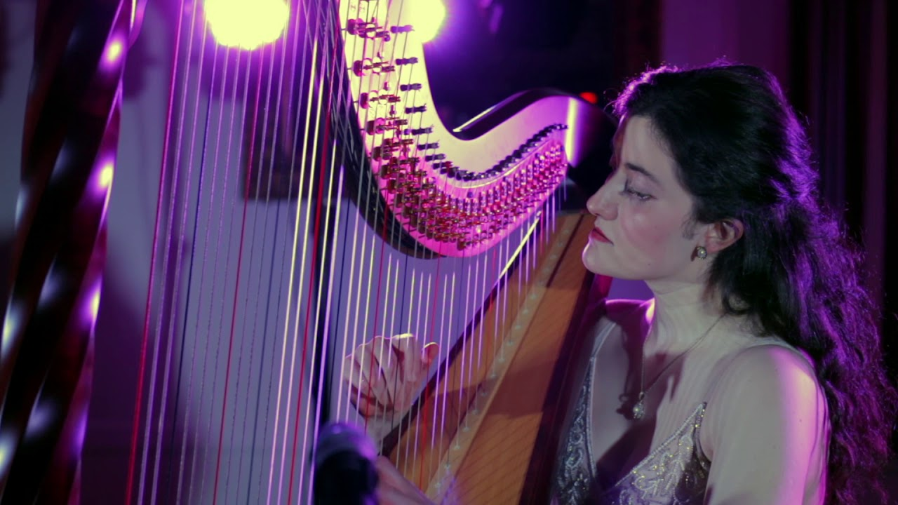 J. Sibelius - Joueur de Harpe (The Harp Player) Op. 34 No. 8 performed by Tara Viscardi (Harp)