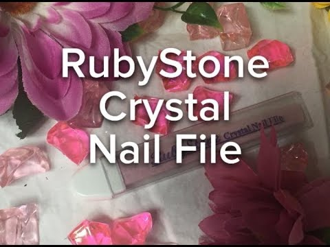 Crystal Nail File Review Ruby Stone