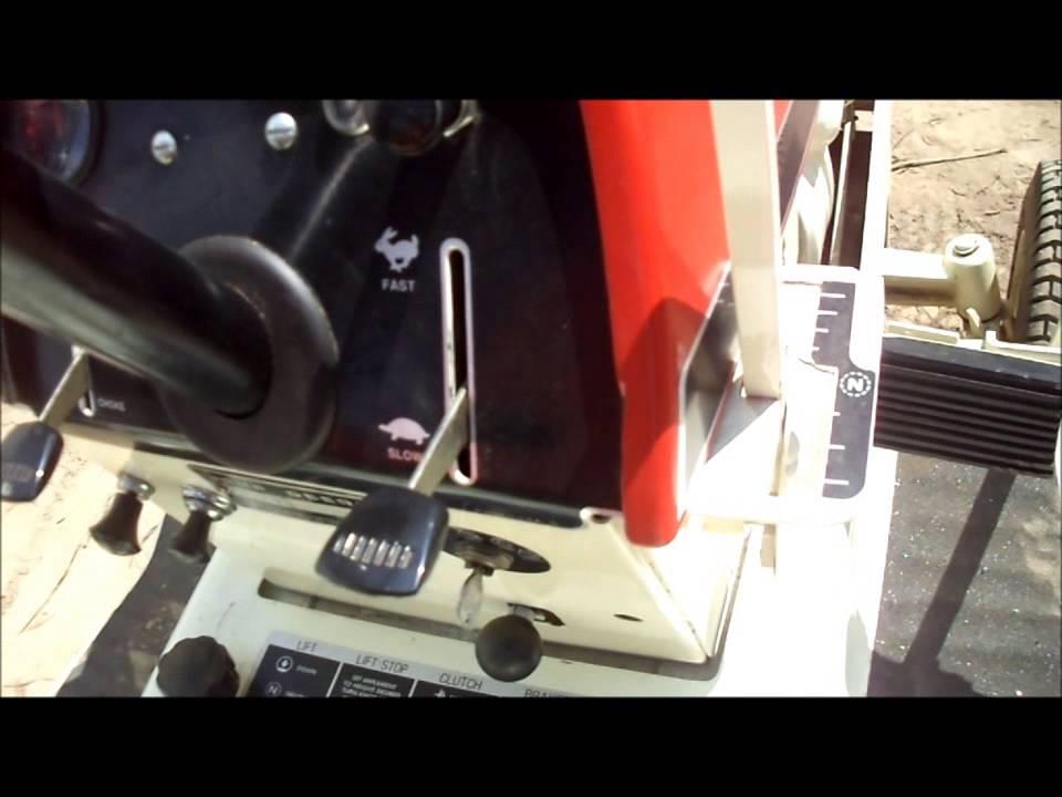 Restored 1969 John Deere 140 H 3 Garden Tractor In Patio Red