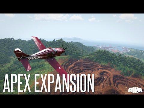 Майский розыгрыш DLC Apex для Arma 3