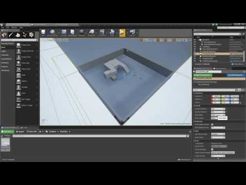 Unreal Engine 4 - Procedural Generation Floor