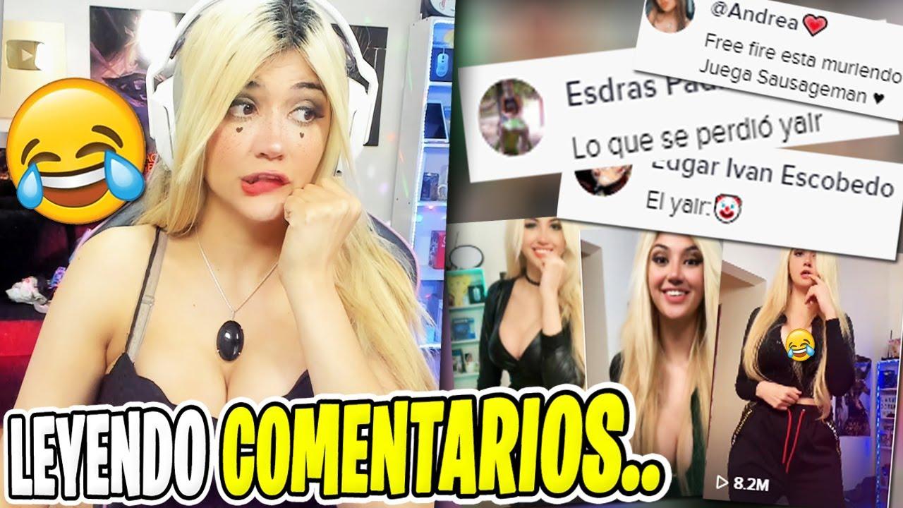 """LEYENDO COMENTARIOS DE MIS TIKTOKS😂 """"LO QUE SE PERDIÓ YAIR"""" *divertido*"""