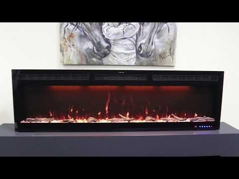 Электрический Очаг Royal Flame Crystal 60 RF. Видео 1