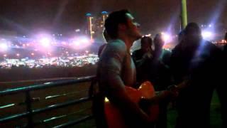 Keep That Devil Out - Kris Allen @ Santa Monica Pier 4.29.12