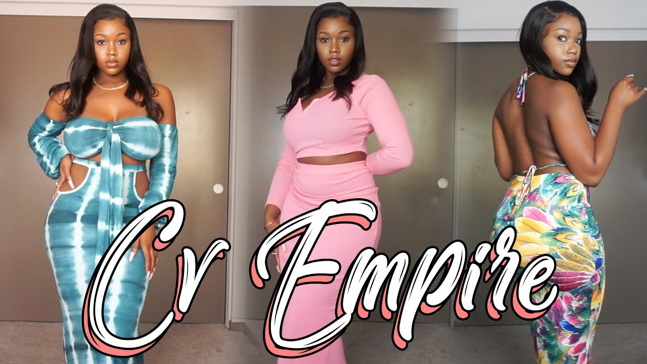 CV EMPIRE CLOTHING HAUL FT. YAFEINI JEWELRY  *BOYFRIEND DOES MY VOICEOVER*