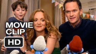The Smurfs 2 Movie CLIP - A Present (2013) - Animated Movie HD