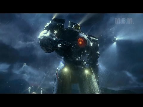 Pacific Rim (2013) -  Beginning and first fight - Pure Action [1080p]