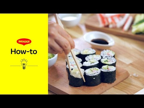 How-To: Sushi rollen | MAGGI Kochstudio