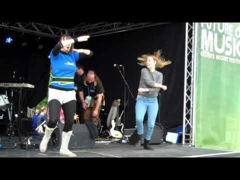 O'Shea & Ogilvie at the Future of Music Festival, Scarborough, 2012