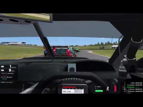 Test Stream Automobilista V8 Supercars Mod