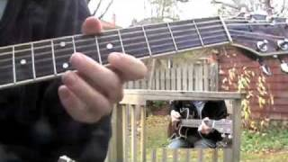 The Cutter - Echo and the Bunnymen - Guitar parts
