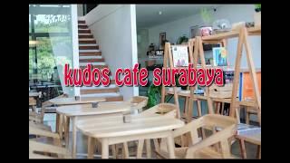 concept of interior and exterior cafe design as creative idea by  kudos cafe surabaya