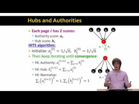 8   10   Hubs And Authorities 15 16 Advanced