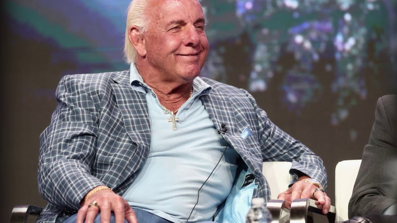 WWE Legend Ric Flair Hospitalized With 'Tough Medical Issues'