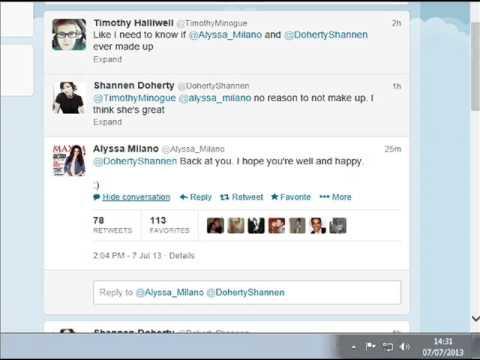 Charmed Shannen Doherty Alyssa Milano Are Friends Again