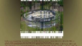 Garden Wild Bird Feeder Feeding Station + Seed Nut Feeder & Water Bath 1 9m Tall