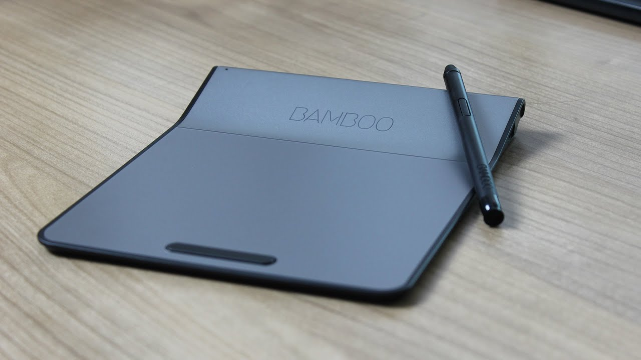 Wacom Bamboo Pad Wireless - Unboxing | GERMAN/DEUTSCH - YouTube