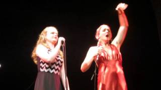 Repeat youtube video Sarah Hardwig & Storm Large -