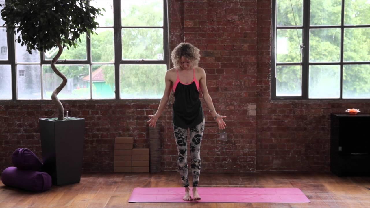 Yoga For Beginners: Video 8 - Garudasana (Eagle Pose ...