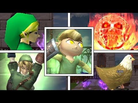 WHAT IF Zelda Characters Had Other FINAL SMASHES? (Super Smash Bros Mods)