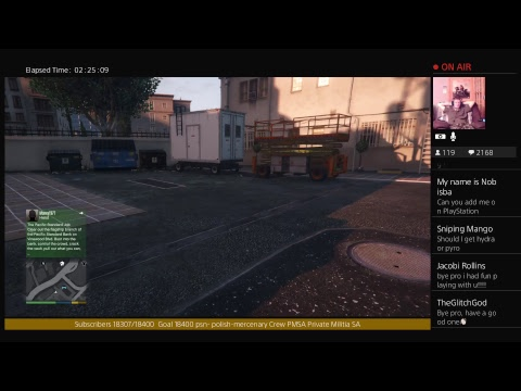 GTA Afternoon  Stream 11/22/17 Helping Subs