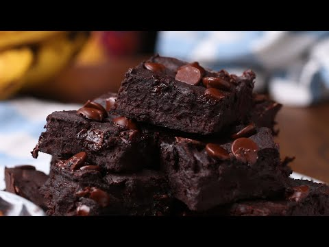 Power Protein Brownies • Tasty