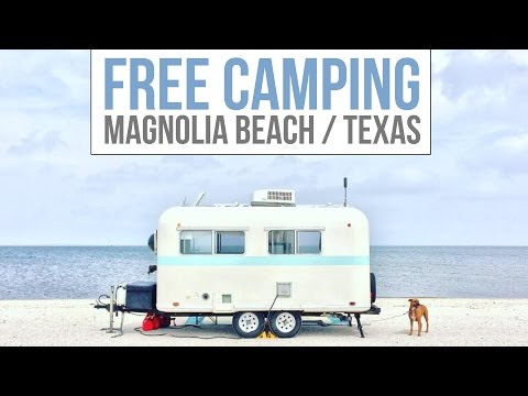 Free Camping at Magnolia Beach TX 🏖💯 Full Time RV Living | Boondocking & Dry Camping on the Beach