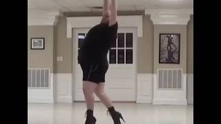 Plus-Sized Dancer Demonstrates His Incredible Flexibility in Towering Stilettos