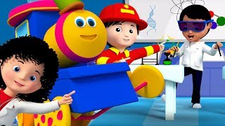 Things That People Do | Bob The Train Cartoons | Videos For Babies