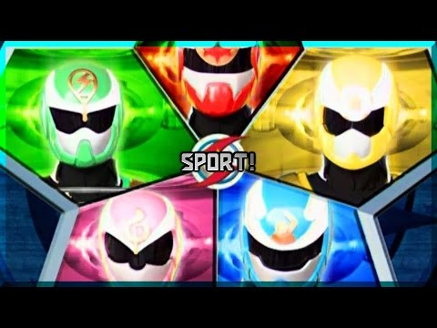 Power Rangers Sport Power | Fan-Opening (Sport Ranger - Season 1)