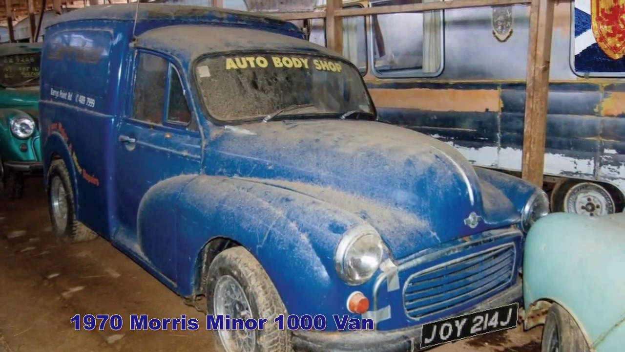Massive UK Barn Find - YouTube