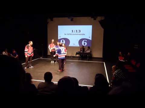 Match LIFI vs Improtagonistes : La télécommande (extrait)