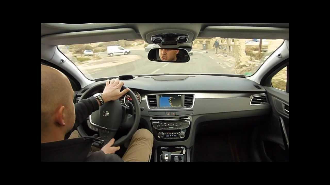 peugeot 508 rxh hybrid4 first test drivesupervroum2 - youtube