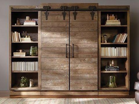 Barn Door Hutch Cabinet Ideas