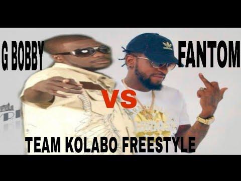 FANTOM vs G BOBBY BON FLO - TEAM KOLABO (FREESTYLE) BY SAJES NET ALE RAP KREYOL