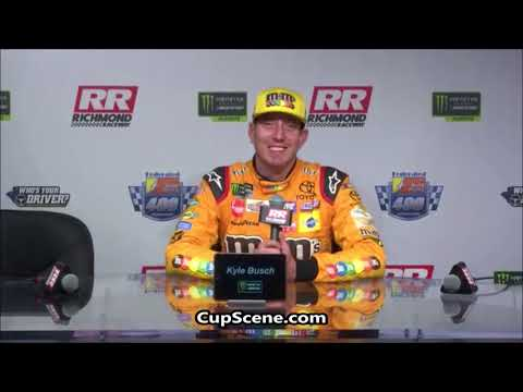 NASCAR at Richmond Raceway Sept. 2018: Kyle Busch post race