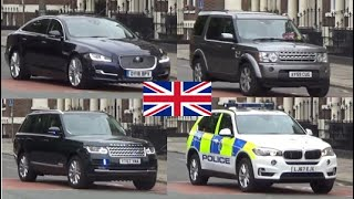 *ROYAL ESCORT* Duke of Cambridge Motorcade Liverpool Visit