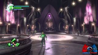 Green Lantern Rise of the Manhunters Walkthrough Part 12 (XBOX 360, PS3, 3DS, WII, DS)