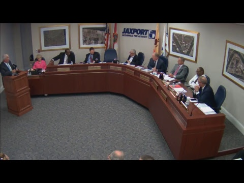 June 26, 2017 JAXPORT Board of Directors meeting