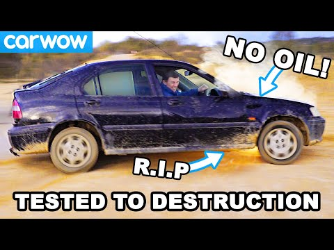 I ran 3 cars with NO OIL until they DIED. Which lasted longest?