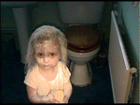 My naughty little girl