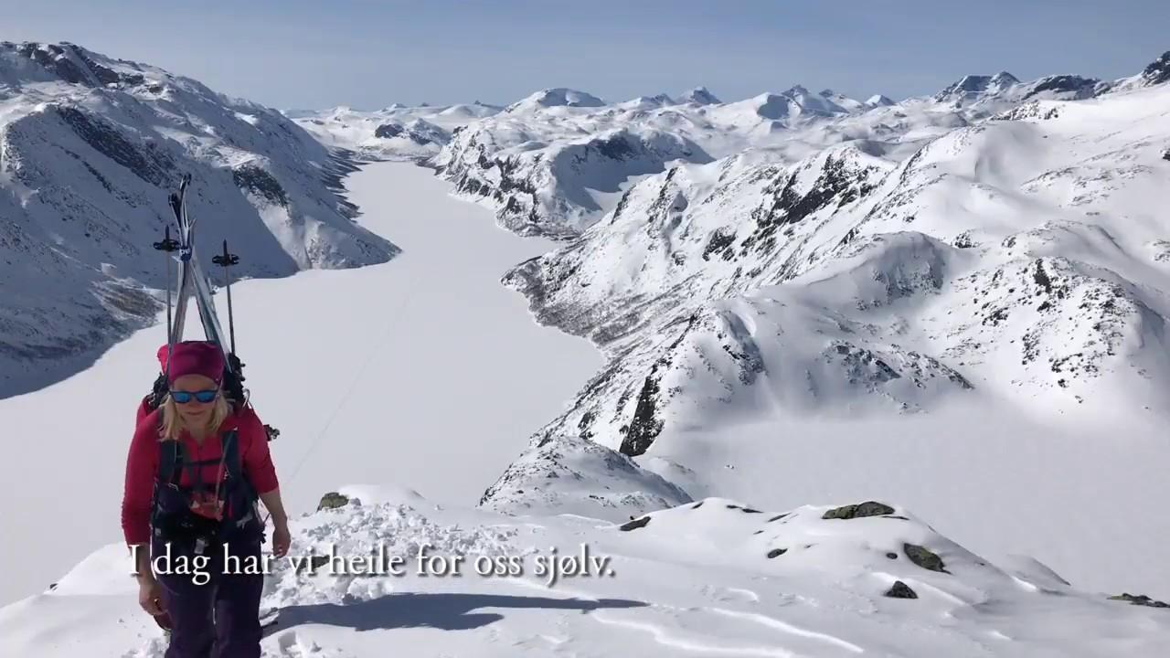 Besseggen på ski