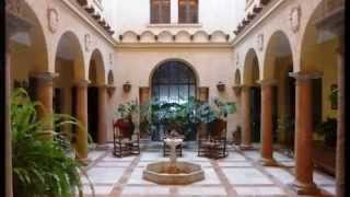 Andujar, Classic Spanish Town House with Enclosed Courtyards built in 1875 .