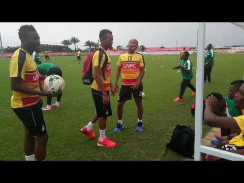 Ghana players jokes over how they defeated Uganda