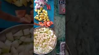 How to cook bottle gouard or boleto lauki vegetable...in healthier way.../subscribe my channel/keep.