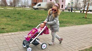 Как Алина играет в куклы Беби Бон КАК МАМА Видео для детей