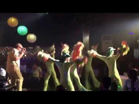 The Dance team at Las Vegas night Club, Havana Part 1