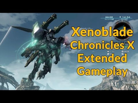 Xenoblade Chronicles X Gameplay - RPG Site Plays