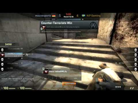 Caseking of the Hill #5 - mousesports vs. NiP (map 1)